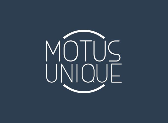Motus Unique logo design