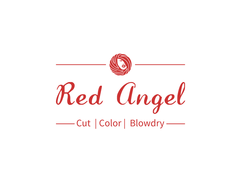 Red Angel - Cut  | Color |  Blowdry