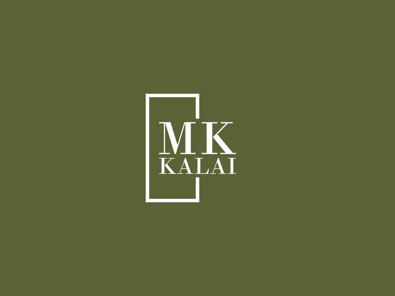 Mk Kalai logo design