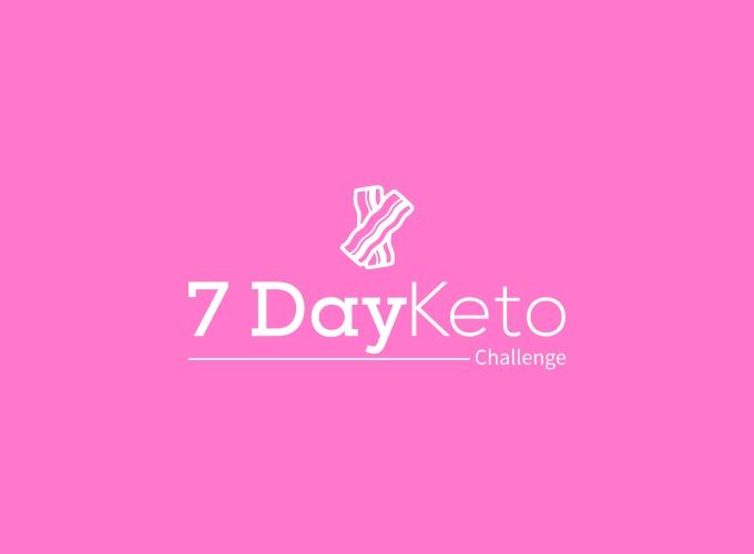 7 Day Keto logo design