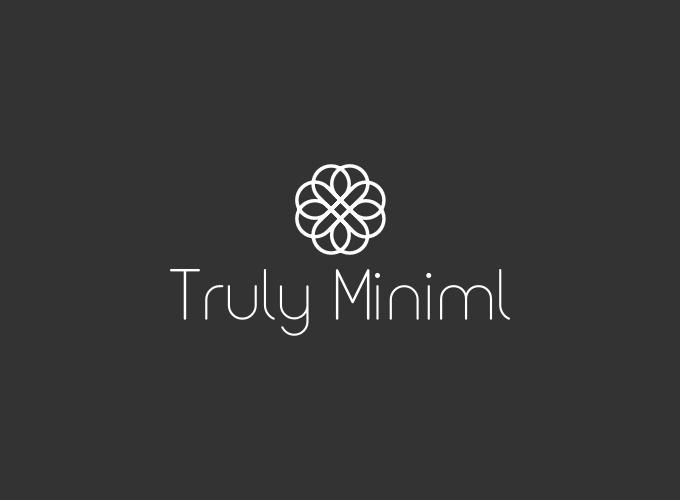 Truly Miniml logo design