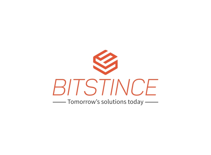 Bitstince logo design
