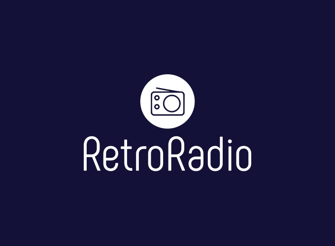RetroRadio logo design