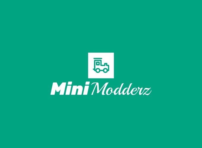 Mini Modderz logo design