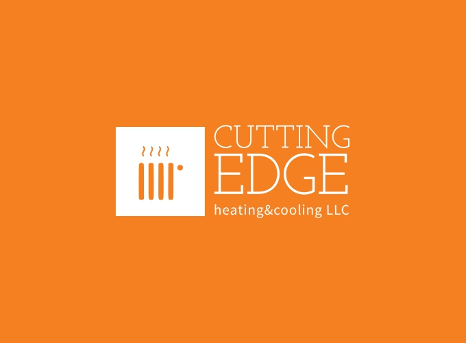 Cutting edge logo design