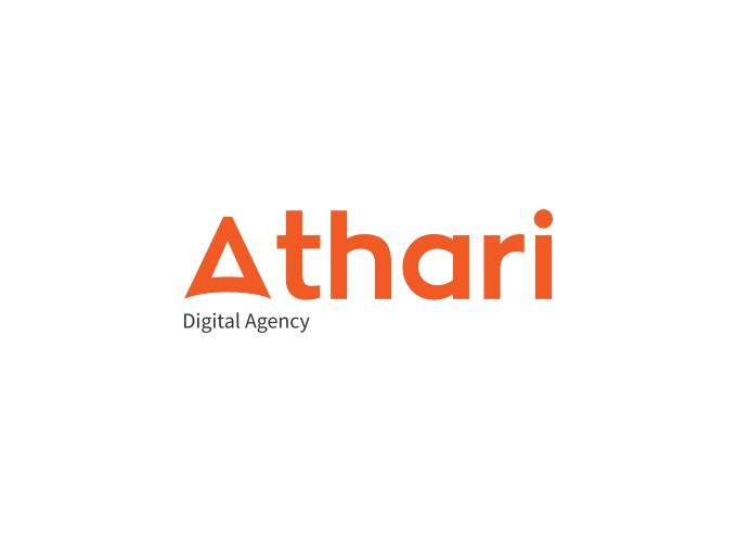 Athari logo design