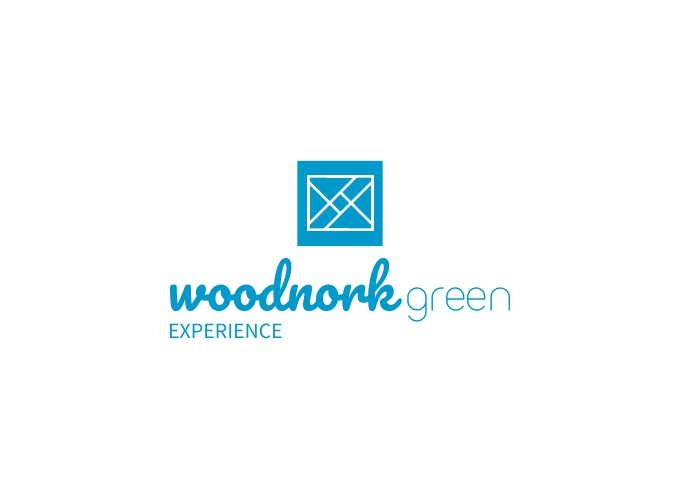 woodnork green logo design