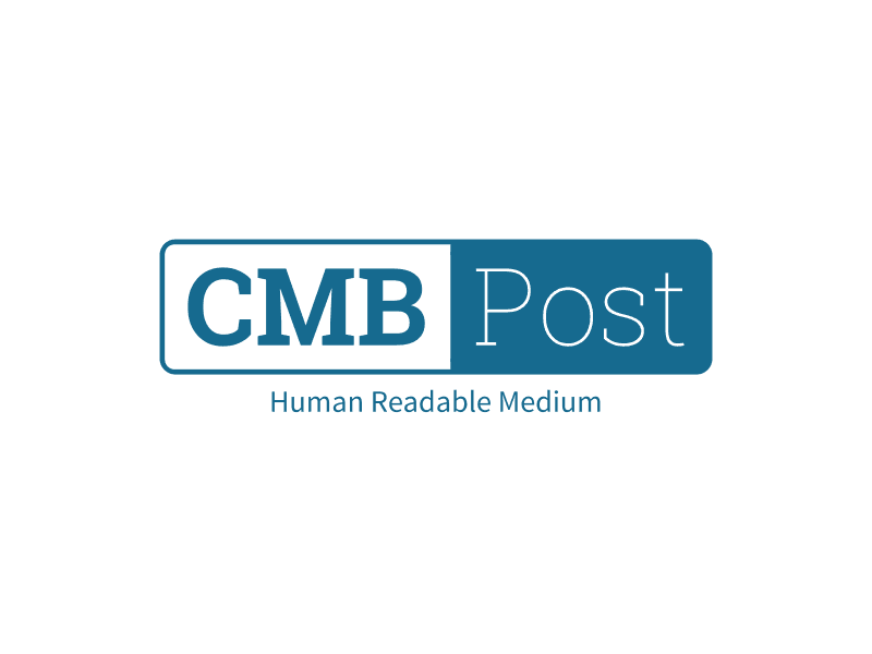 CMB Post - Human Readable Medium