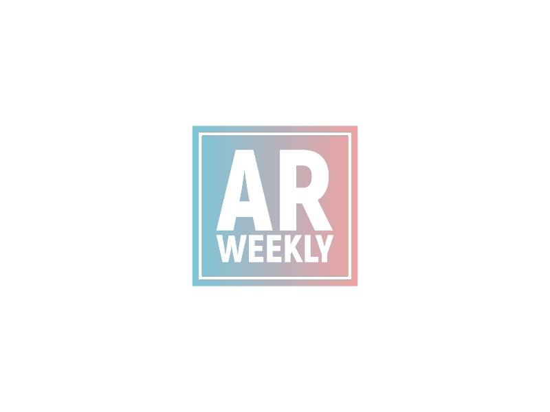 AR Weekly logo design