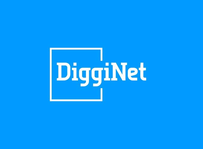 DiggiNet logo design
