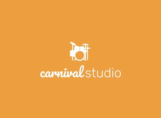 carnival studio logo design