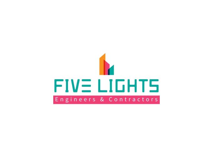 Five Lights logo design