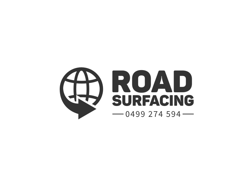 Road Surfacing logo design