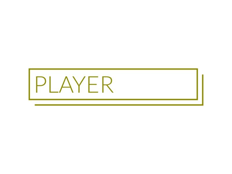 PLAYER MEDIA logo design
