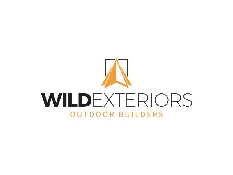 WILD EXTERIORS logo design