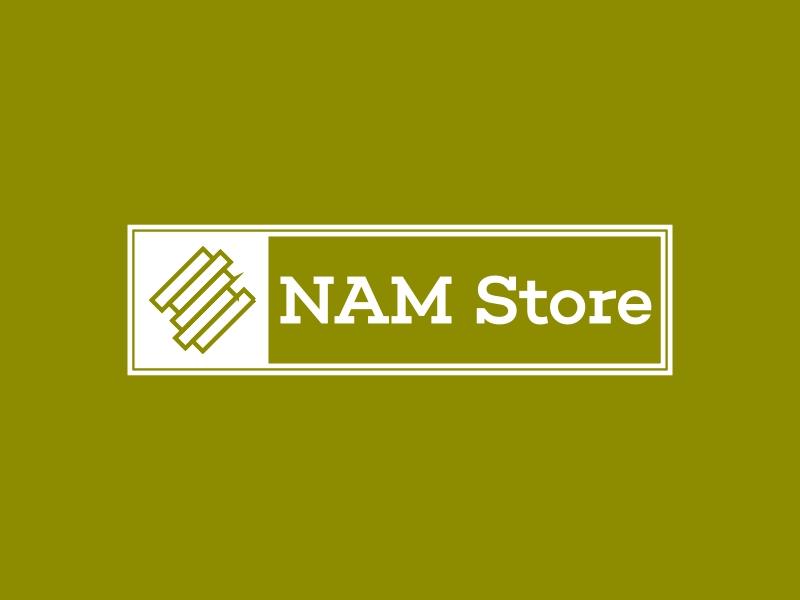 NAM Store logo design