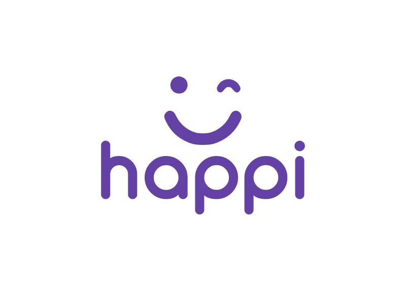 happi logo design