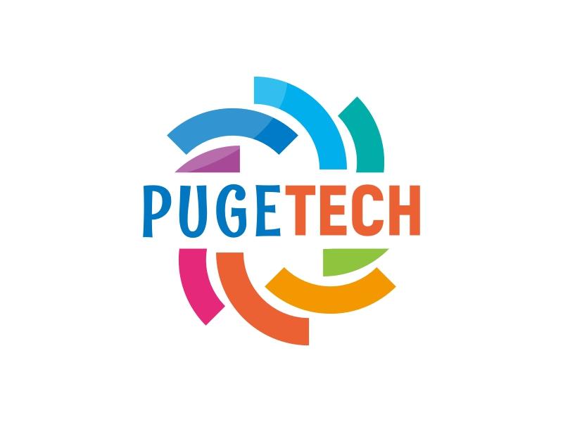 PUGETECH logo design