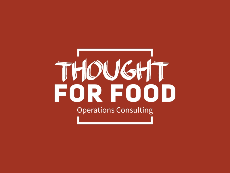 THOUGHTFOR FOOD logo design