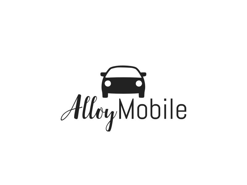 AlloyMobile logo design