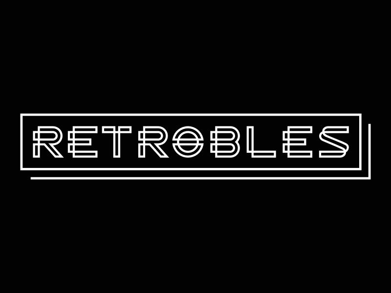 retrobles logo design