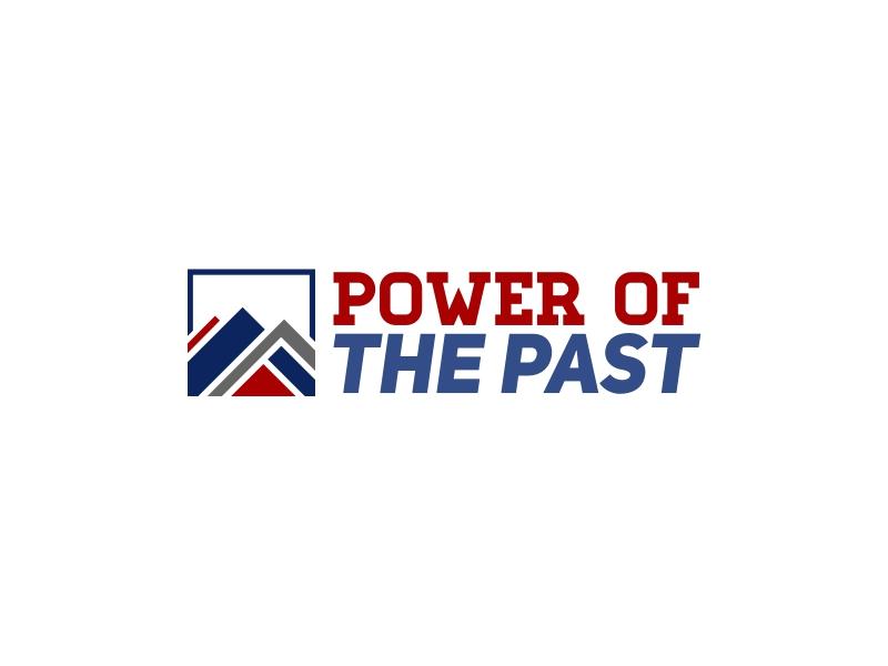 power ofthe past logo design