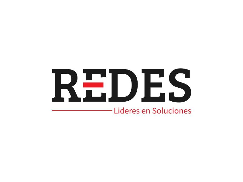REDES logo design