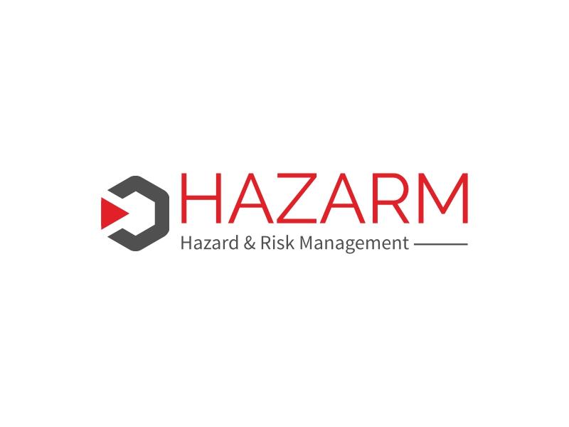 HAZARM logo design