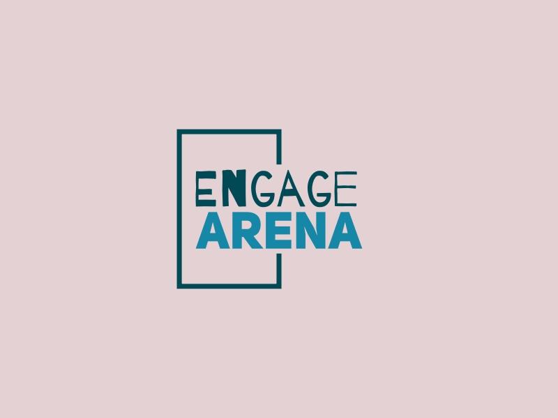 EngageArena logo design