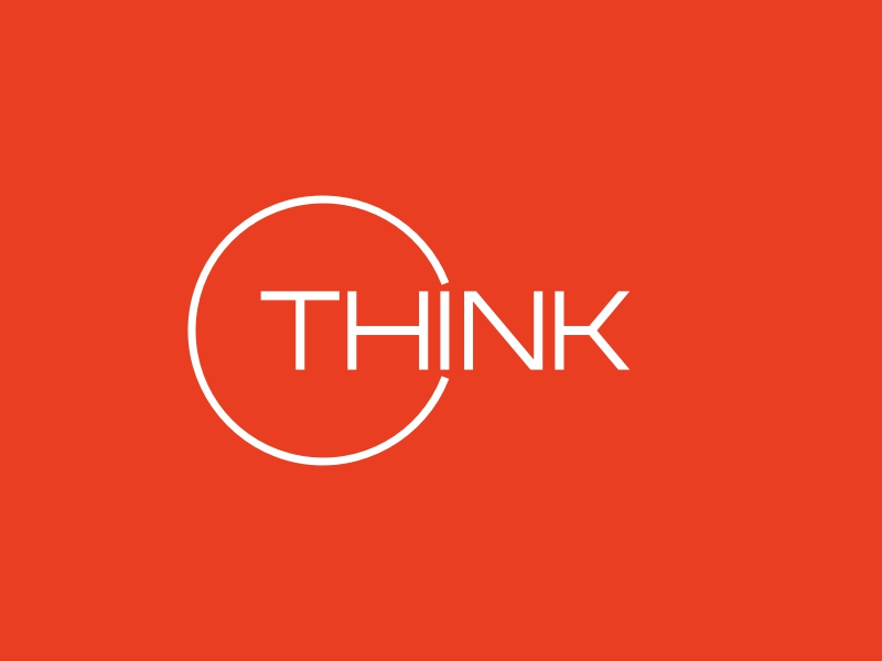 THINK logo design