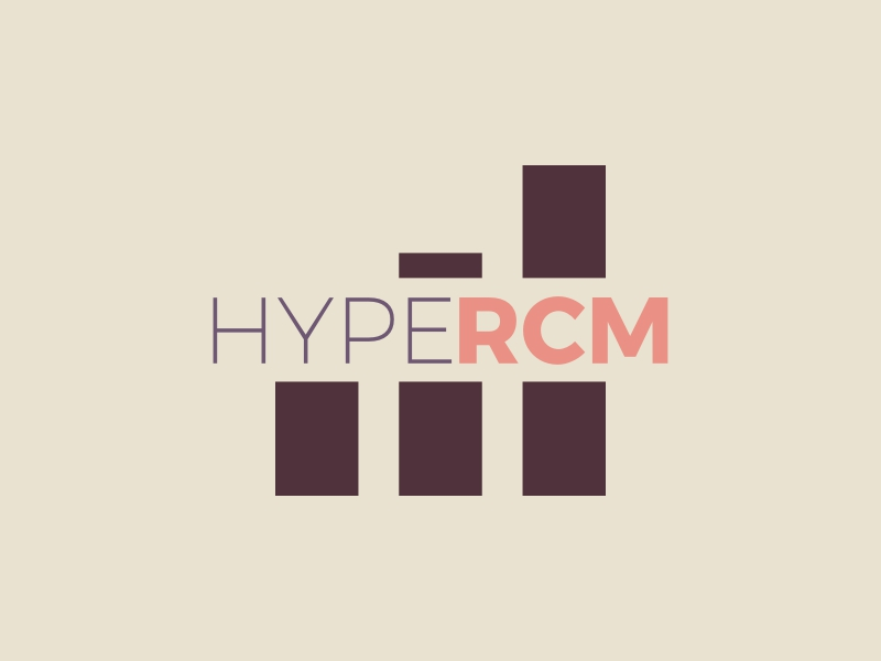 HYPE RCM logo design