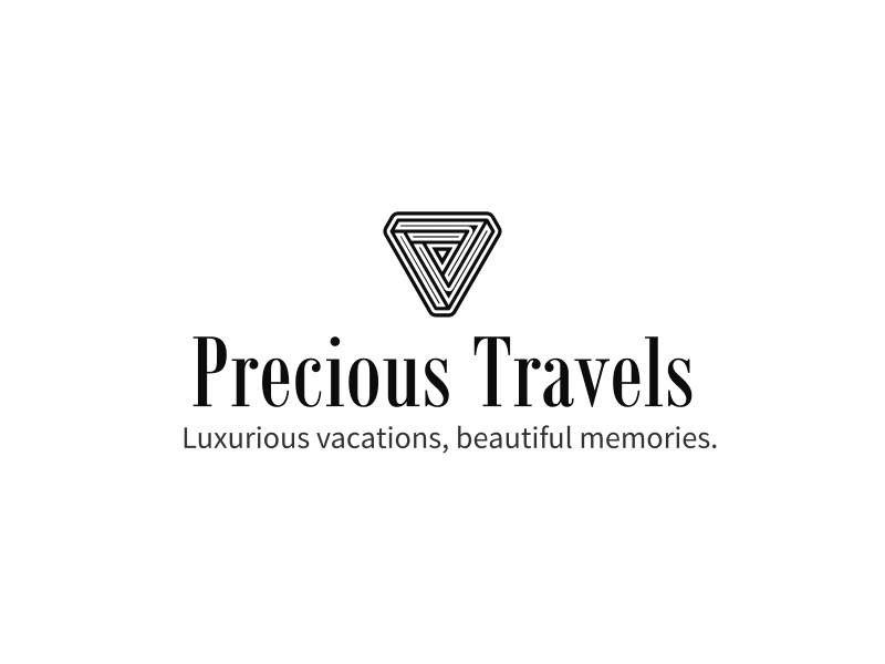 Precious Travels logo design