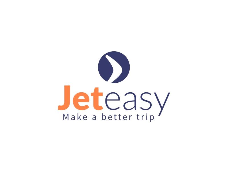 Jet easy logo design