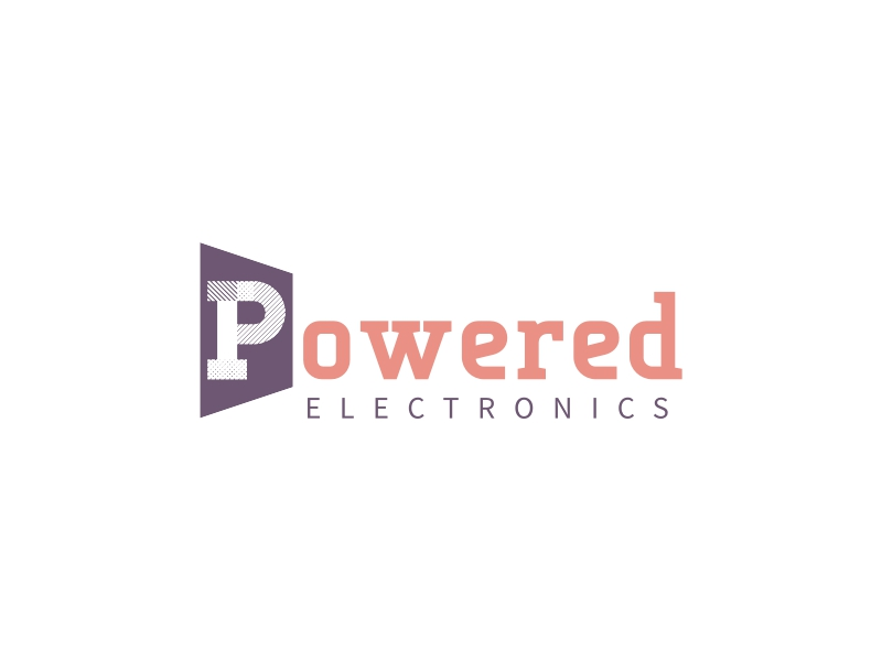 Powered logo design