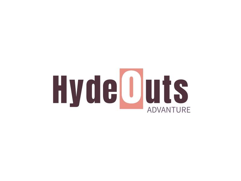 Hydeouts logo design