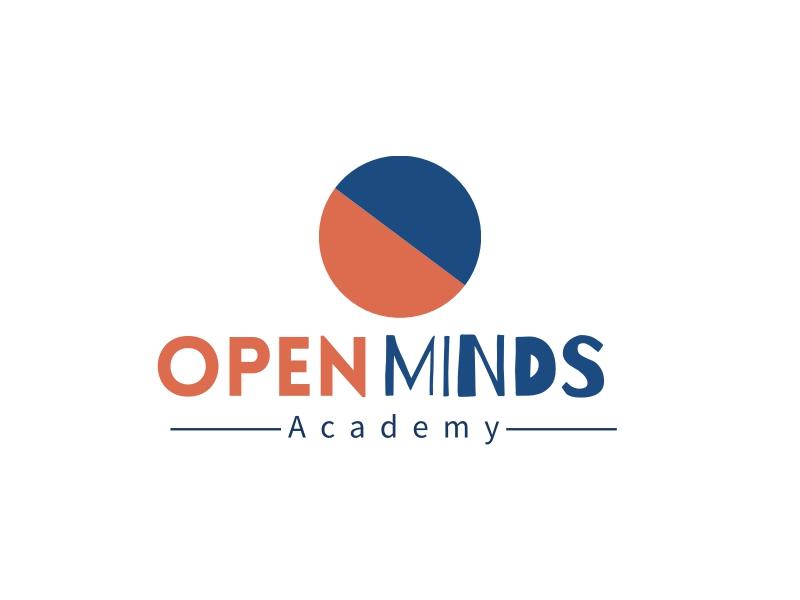 OPEN MINDS logo design