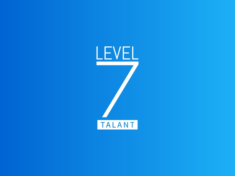 LEVEL 7 logo design