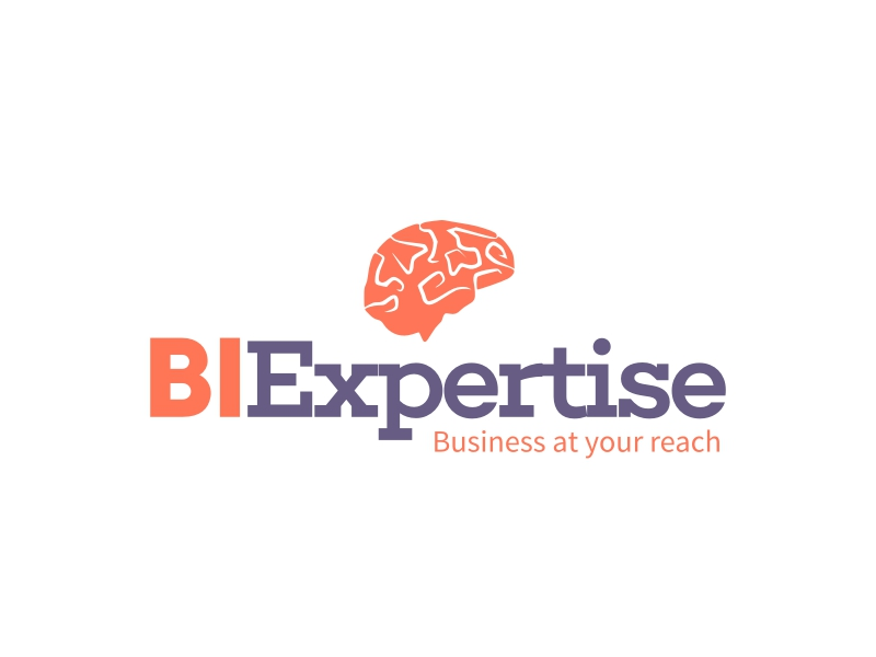 BI Expertise logo design