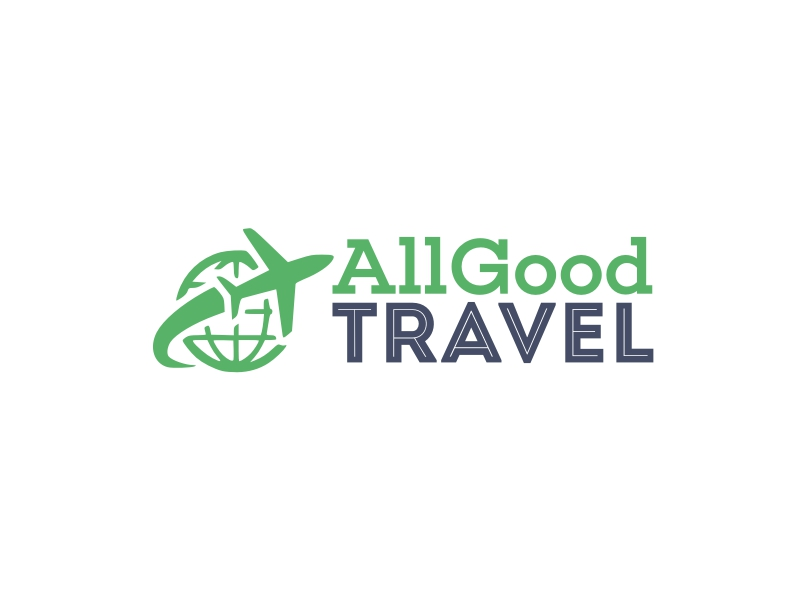 AllGood TRAVEL logo design