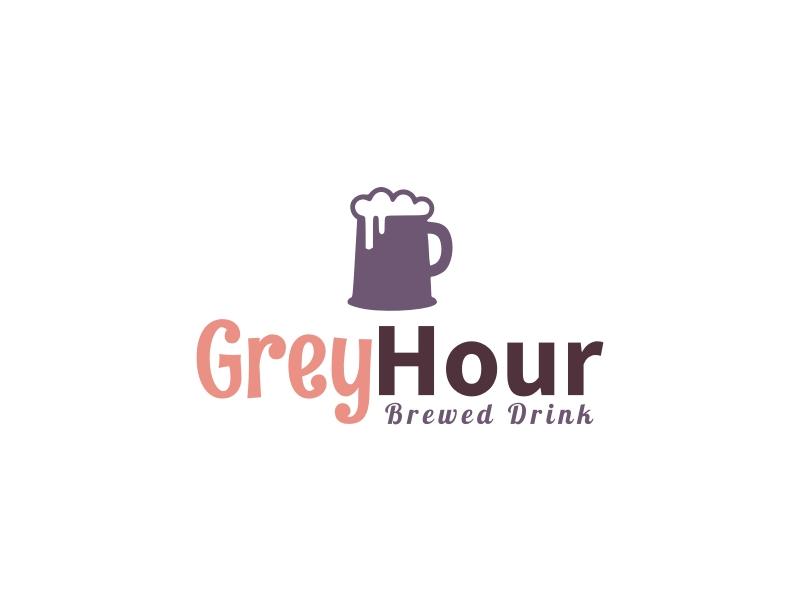Grey Hour logo design