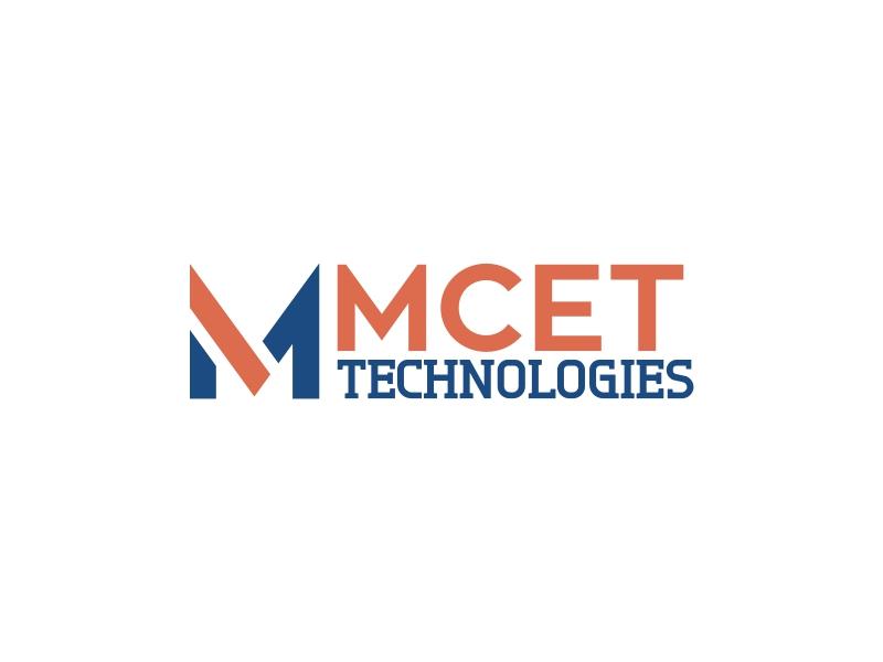 MCET TECHNOLOGIES logo design