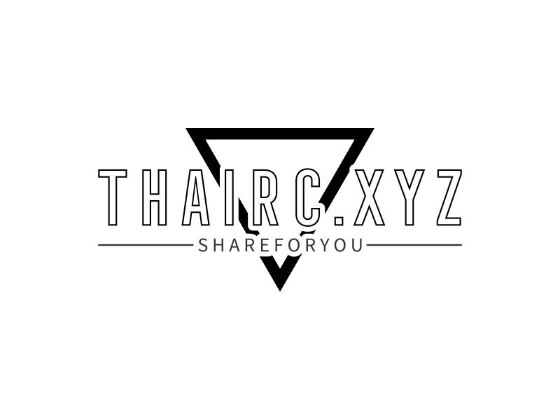 Thairc.xyz logo design