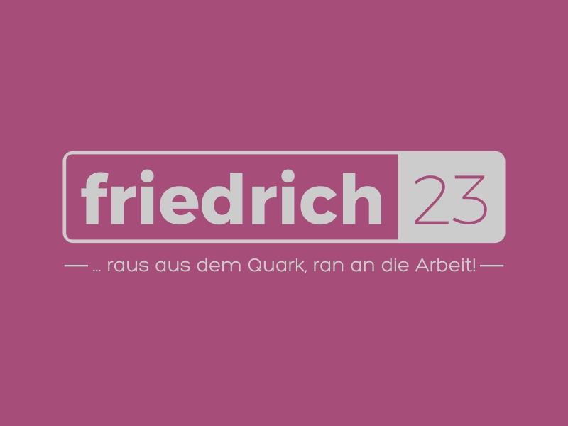 friedrich 23 logo design