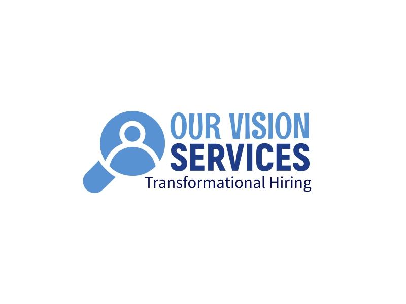OUR VISION SERVICES logo design