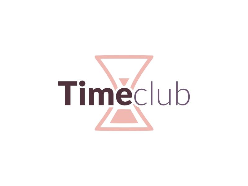Time club logo design