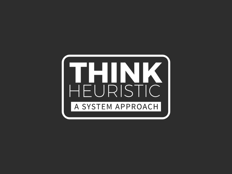 THINK HEURISTIC logo design