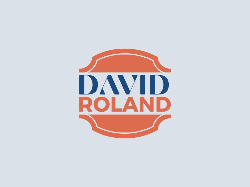 DAVID ROLAND logo design
