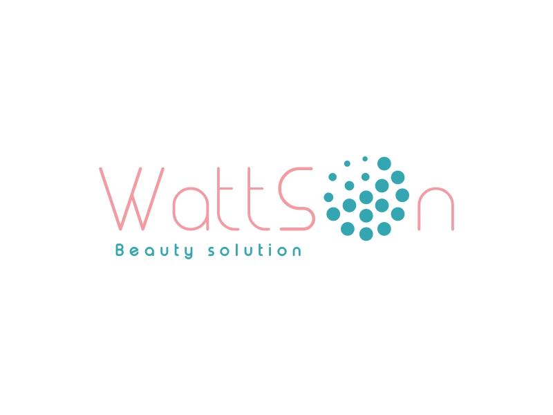 WattSon logo design