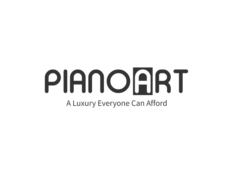 PIANOART logo design