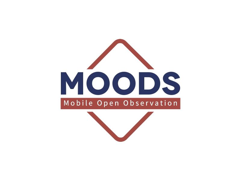 MOODS logo design